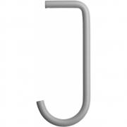 String - Haken für Regalboden Metall für String® System (5er Set) Grau