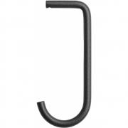 String - String+ Haken für Regalbrett Metall (5 Stk.) Schwarz