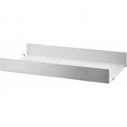 String - Shelf System Metal Shelf High Edge Outdoor