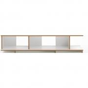 Tojo - Stell Rack Basic Module 160 cm | White