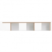 Tojo - Stell Rack Extension Module 160 cm | White