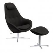 Varier - Kokon Sessel mit Fußhocker
