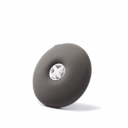 Authentics - Pill Wärmflasche Dunkelgrau | Weiß
