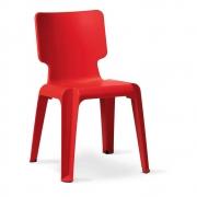 Authentics - Wait Chair Red