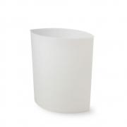 Authentics - Lip Papierkorb Weiß