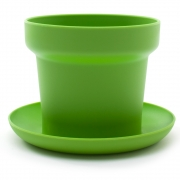Authentics - Vert Plante en pot (Lot de 2)