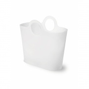 Authentics - Rondo Shopping Bag White Translucent