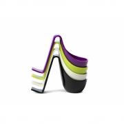 Authentics - Eiko Egg Boiler (Set of 4) Lime, Purple, Black, White