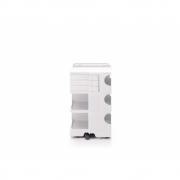 B-Line - Boby moyen Rollcontainer 3 | Blanc