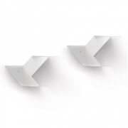 B-Line - Fin Wall Shelf (Set of 2)