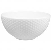Design House Stockholm - Blond Suppenschüssel Weiß gepunktet