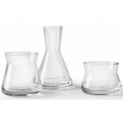 Design House Stockholm - Trio vases (lot de 3) Transparent