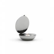 Design House Stockholm - Shell Teelichthalter Nickel