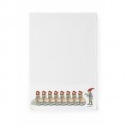 Design House Stockholm - Elsa Beskow torchon Christmas elf family
