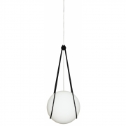 Design House Stockholm - Kosmos support pour Luna lampe à suspension Noir | Luna Ø 30 cm