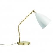 Gubi - Grossman Gräshoppa Table Lamp Matt White