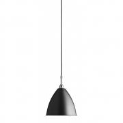 Gubi - Bestlite lampe à suspension BL9 Ø 16 cm | Chromé - Noir