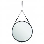 Gubi - Adnet Mirror Round Ø 70 cm | Black
