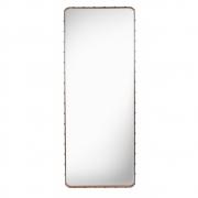 Gubi - Adnet Spiegel eckig 180 x 70 cm   Braun