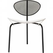 Gubi - Mategot Nagasaki Cadeira Preto Branco