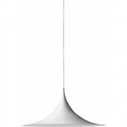 Gubi - Semi Pendente Ø 30 cm Branco Esmerilado