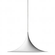 Gubi - Semi Pendant Lamp Ø 47 cm Matt White