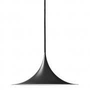 Gubi - Semi Pendente Ø 60 cm Matt Preto