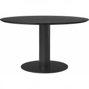 Gubi - 2.0 Esstisch rund 130 cm - Esche schwarz | Schwarz