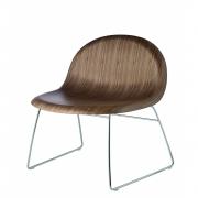 Gubi - 3D Poltrona De Lounge Com Estrutura De Patins