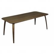 Gubi - Dining Table Rectangular 200 x 100 cm   Walnut