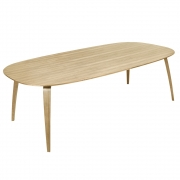 Gubi - Mesa de jantar elíptica