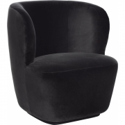 Gubi - Stay Lounge Chair with Swivel Base