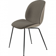 Gubi - Beetle Dining Chair Front Upholstered
