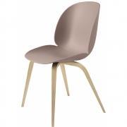 Gubi - Beetle Dining Chair Stuhl Holzgestell Sweet Pink | Eiche