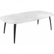 Gubi - Mesa de jantar mármore elipticamente