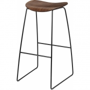 Gubi - 2D Barstool Sledge Base