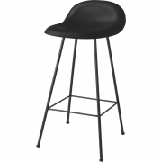 Gubi - 3D Barstool 65 cm | Midnight Black