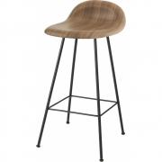 Gubi - 3D Barhocker 65 cm | Buche Schwarz