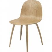Gubi - 2D Cadeira Madeira Noz