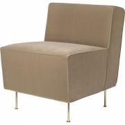 Gubi - Modern Line Dining Lounge Chair