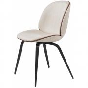 Gubi - Beetle Dining Cadeira Com Estofamento Faia Preta