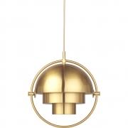 Gubi - Multi-Lite Pendant Lamp Small Brass (Brass base)