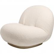 Gubi - Pacha Lounge Chair with Swivel Base