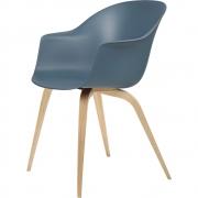 Gubi - Bat Dining Chair Un-Upholstered Oak