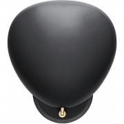 Gubi - Cobra Grossman Wall Lamp wireless Black Semi Matt