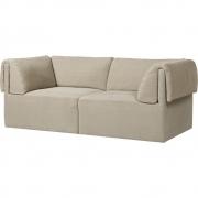 Gubi - Wonder 2-Sitzer Sofa