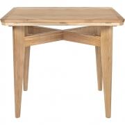 Gubi - B-Table Mesa de jantar carvalho, placa giratória e expansível