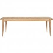 Gubi - S-Table Mesa de jantar carvalho, rectangular e extensível