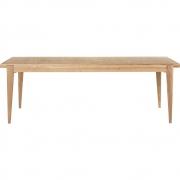 Gubi - S-Table Mesa de jantar carvalho, fixo rectangular
