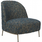 Gubi - Sejour Lounge Chair Fully Upholstered